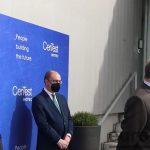 CEEI ARAGÓN: El ministro de Ciencia visita CerTest