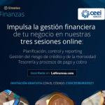 CEEI BURGOS: Jornadas online y gratuitas para impulsar la gestión financiera de los negocios