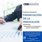 "11/06 CEEI ARAGÓN: ""Encuentra un inversor: Ances Investment"""