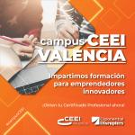 CEEI VALENCIA abre un campus de formación online apostando por la metodología Agile, Innovación y Emprendimiento