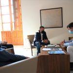 El alcalde de Linares recibe a una representación de ANCES para asentar las vías de colaboración abiertas